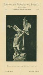 Compagnie des Bronzes_Bronzes Monumentaux_v1920_Page 2_Groupe du Monument des Honveds à Budapest
