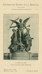Compagnie des Bronzes_Bronzes Monumentaux_v1920_Page 3_Le Génie de l'Art