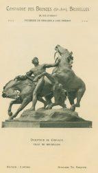 Compagnie des Bronzes_Bronzes Monumentaux_v1920_Page 9_Dompteur de Chevaux