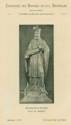 Compagnie des Bronzes_Bronzes Monumentaux_v1920_Page 11_Monseigneur Hammer