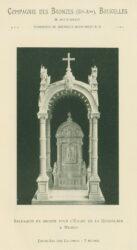 Compagnie des Bronzes_Bronzes Monumentaux_v1914_Page 30_Baldaquin en bronze pour l'Église de la Guadalapa à México