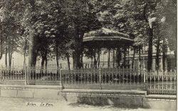 Kiosque à musique – Parc Léopold – Arlon (disparu)