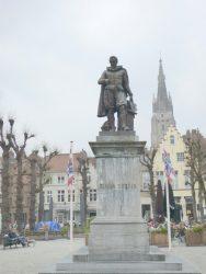Monument à Simon Stevin – Brugge (Bruges)