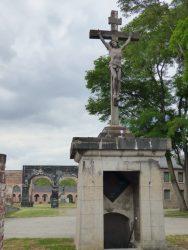 Christ en croix – Monument funéraire De Gorge – Hornu (Boussu)