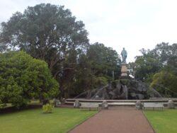 Monument à John Logan Campbell – Epsom – Auckland (Nouvelle-Zélande)