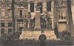 Monument à Edouard Remy – Leuven (Louvain)