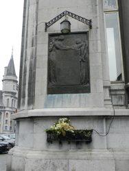 Plaque commémorative – Place du XX août – Liège