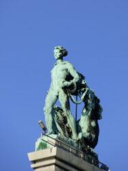 Allégorie – La Traction hippomobile – Palais 5 – Centenaire – Heysel – Laeken