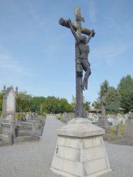 Christ en croix – cimetière – Ruisbroek