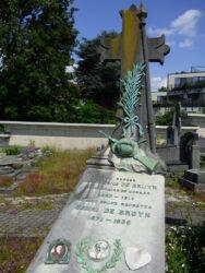 Tombe Maurice De Bruyn – cimetière de Saint-Gilles – Uccle