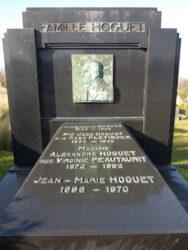 Tombe Famille Hoguet – cimetière de Saint-Gilles – Uccle