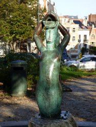 La sirène du Baudouinville – square de Léopoldville – Etterbeek
