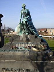 Tombe Smits-Mullier – cimetière de Saint-Gilles – Uccle