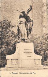 Monument à Gabrielle Petit – Tournai
