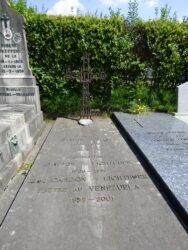 Croix funéraire – tombe Carton de Wiart – Cimetière – Woluwe-Saint-Pierre