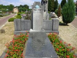 Tombe Roger Vandendriessche – Cimetière – Woluwe-Saint-Pierre