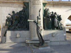 Monument à Léopold II – Allégorie de la Belgique – Oostende (Ostende)