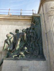 Monument à Léopold II – Groupe des Congolais – Oostende (Ostende)