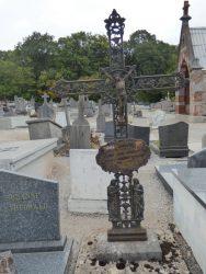 Croix funéraire – cimetière – Gougnies (Gerpinnes) (4)