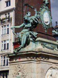 Allégorie de la Ville de Bruxelles – Fontaine Anspach – Bruxelles