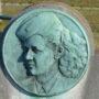 Médaillon – Yvonne - cimetière de Saint-Gilles - Uccle - Image2