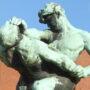 Les Lutteurs - Laeken - Image8