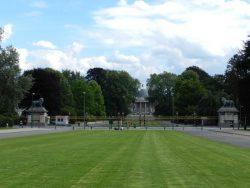 Grilles d'honneur – Château Royal – Laeken