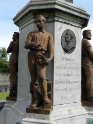Monument à John Cockerill – statues des ouvriers – Seraing