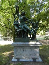 Ensemble de statues – Parc d'Avroy – Liège