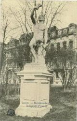 Bacchus (ou Faune) – parc d'Avroy – Liège (disparu)