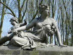 Nymphe et enfant au trident – Domaine Trois Fontaines – Vilvoorde (Vilvorde)