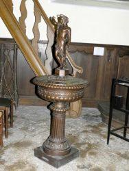 Fonts baptismaux – église – Cugnon
