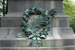 Couronne mortuaire – Cimetière du Dieweg – Uccle