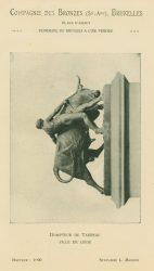 Compagnie des Bronzes_Bronzes Monumentaux_v1920_Page 14_Dompteur de Taureau – Ville de Liège