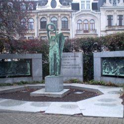 Monument aux artilleurs de tranchée 1914-1918 – Etterbeek