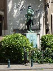 Monument aux morts – rue de l'Aqueduc – Saint-Gilles
