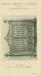 Compagnie des Bronzes_Bronzes Monumentaux_v1920_Page 42_Porte-Grille exécutée pour le corpo de bombeiros – Rio Janeiro