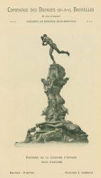 Compagnie des Bronzes_Bronzes Monumentaux_v1920_Page 12_Fontaine de la légende d'Anvers