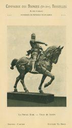 Compagnie des Bronzes_Bronzes Monumentaux_v1914_Page 33_Le Prince Noir – Ville de Leeds