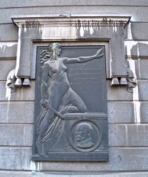 Plaque au Général Leman – Etterbeek