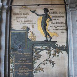 Monument à Charles Buls – Grand-Place de Bruxelles