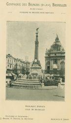 Compagnie des Bronzes_Bronzes Monumentaux_v1920_Page 22_Monument Anspach – Ville de Bruxelles