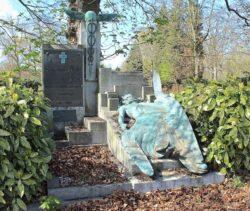 Tombe de Georges Nelis – cimetière de Bruxelles – Evere