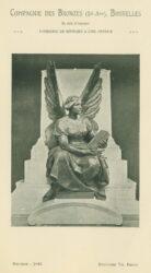 Compagnie des Bronzes_Bronzes Monumentaux_v1914_Page 37_Figure allégorique 1 – Monument Gladstone- Liverpool