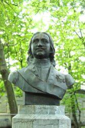 Buste de Pierre le Grand – Parc royal – Bruxelles