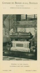 Compagnie des Bronzes_Bronzes Monumentaux_v1914_Page 35_Mémorial de Lord Leighton – Cathédrale Saint-Paul (Londres)