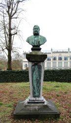 Buste de Jean Linden – Parc Léopold à Bruxelles