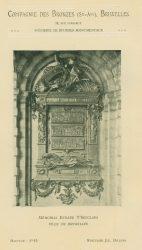 Compagnie des Bronzes_Bronzes Monumentaux_v1920_Page 5_Mémorial Evrard  T'Serclaes