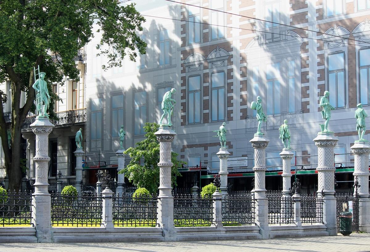 Square du Petit Sablon – Bruxelles