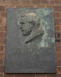 Plaque Walthère Dewé – Ixelles
